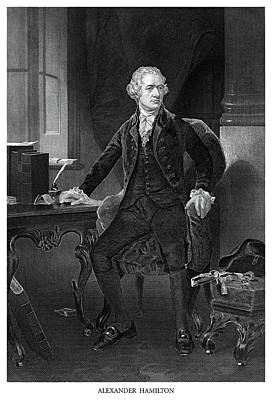 Alexander Hamilton Art Print by Historic Image