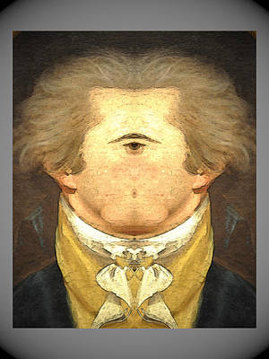 Digital Art - Alexander Hamilton Invert by Zac AlleyWalker Lowing