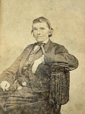 Alexander Hamilton Stephens, Us Art Print by Everett