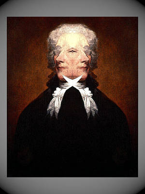 Digital Art - Alexander Hamilton by Zac AlleyWalker Lowing