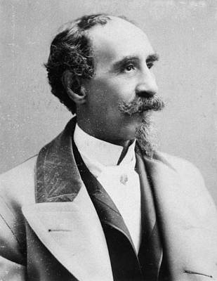 Lapel Photograph - Alexander Herrmann (1844-1896) by Granger