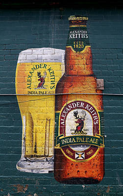 Photograph - Alexander Keith's Beer Mural by Andrew Fare