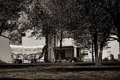Photograph - Alexander Majors Home Kc by Tim McCullough