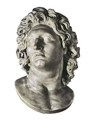 Alexander The Great 356-323 Bc. King Art Print