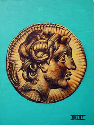 Painting - Alexander The Great by Brent Andrew Doty