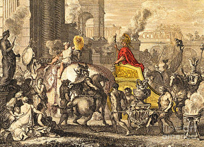 Alexander The Great Entering Babylon Art Print by Getty Research Institute