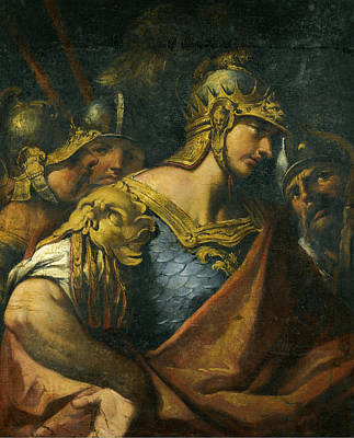Painting - Alexander The Great by Gaspare Diziani