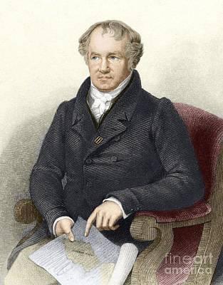 Alexander Von Humboldt, German Art Print by Sheila Terry