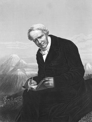 Engraving Photograph - Alexander Von Humboldt by Underwood Archives