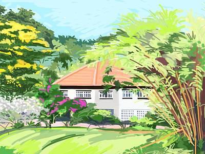 Alexandra Park Singapore Art Print by Plum Ovelgonne