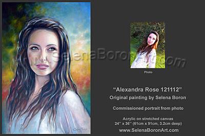 Alexandra Rose 121112 Art Print