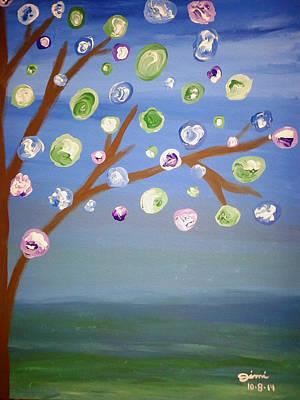 Wall Art - Painting - Alexandra's Garden V2 by Jimi Bush
