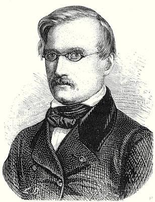 Alexandre Charles Surell Director Of The Midi Railway Art Print by English School