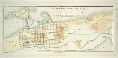 Cartography Photograph - Alexandria by British Library