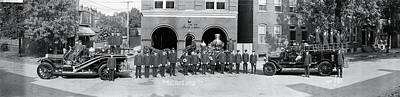 Fire Department Photograph - Alexandria Fire Department Alexandria Va by Fred Schutz Collection