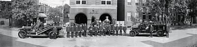 Fire Engine Photograph - Alexandria Fire Department Alexandria Va by Fred Schutz Collection
