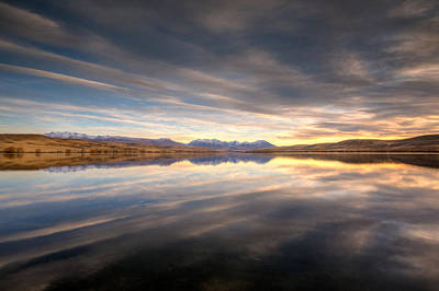 Photograph - Alexandrina Sunrise by Brad Grove