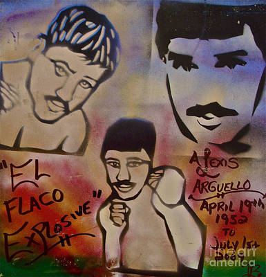 Nicaragua Painting - Alexis Arguello by Tony B Conscious