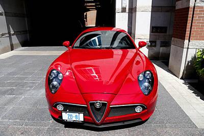 Photograph - Alfa Romeo 1 by Andrew Fare