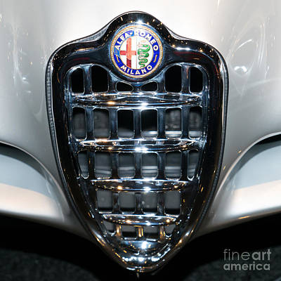 Photograph - Alfa Romeo Bat 9 Dsc02643sq by Wingsdomain Art and Photography