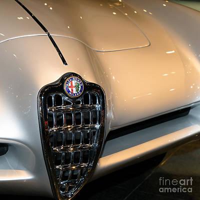 Photograph - Alfa Romeo Bat 9 Dsc02649sq by Wingsdomain Art and Photography