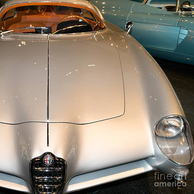 Photograph - Alfa Romeo Bat 9 Dsc02654sq2 by Wingsdomain Art and Photography
