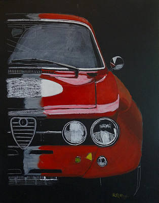 Painting - Alfa Romeo Gtv  by Richard Le Page