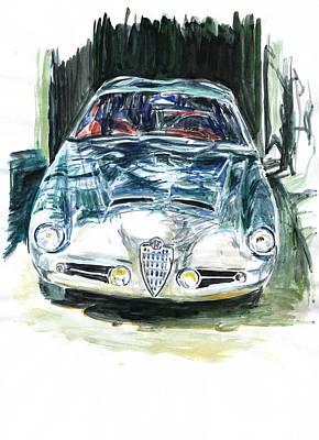 Alfa Romeo Art Print by Ildus Galimzyanov