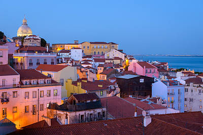 Photograph - Alfama Rooftops by Mark Robert Rogers