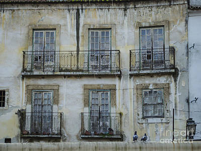 Photograph - Alfama Windows by Deborah Smolinske