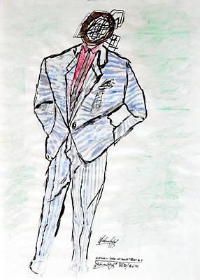 Alfons Part 4 Fashion Is Art Series Original by Dietmar Scherf