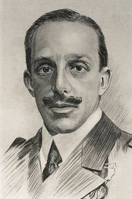Miguel Drawings Photograph - Alfonso Xiii 1886-1941. King Of Spain by Everett