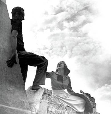 Photograph - Alfred De Liagre And Mrs William Labrot by Horst P. Horst