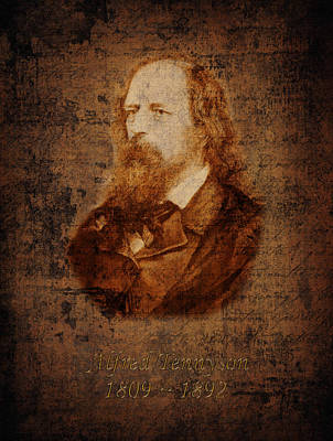 Photograph - Alfred Tennyson by Andrew Fare
