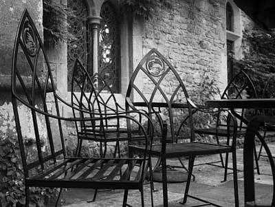Art Print featuring the photograph Alfresco by Stewart Scott