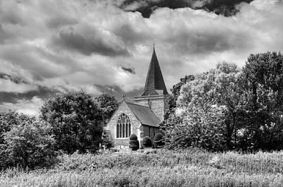 Photograph - Alfriston Church by Mick House