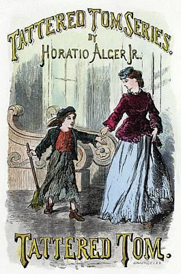Alger Tattered Tom, 1871 Art Print by Granger
