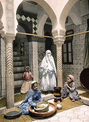 Algiers Couscous, C1899 Art Print by Granger