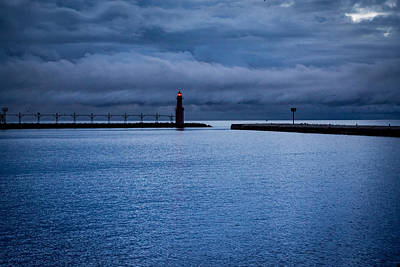Photograph - Algoma's Blue Hour by Bill Pevlor