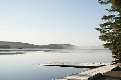 Photograph - Algonquin - Dock O The Bay by Alan Norsworthy