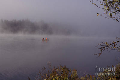 Photograph - Algonquin Canoe by Jim West