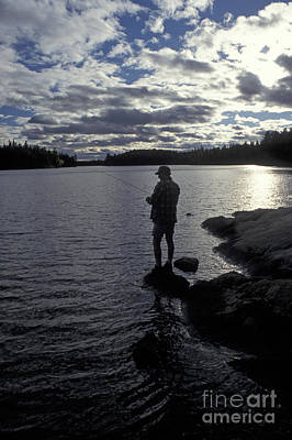 Photograph - Algonquin Fisherman by Jim West