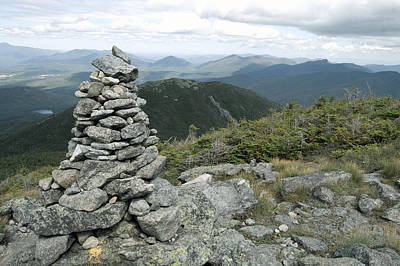 Photograph - Algonquin Mountain Cairn by David Seguin