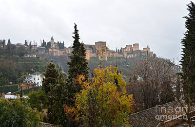 Photograph - Alhambra From Sacromonte by RicardMN Photography