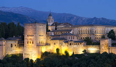 Photograph - Alhambra Palace  by Nathan Rupert