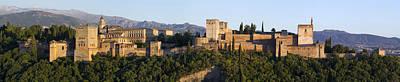 Photograph - Alhambra Palace - Panorama by Nathan Rupert