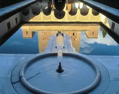 Alhambra De Granada Photograph - Alhambra. Spain. Andalusia. Granada by Everett