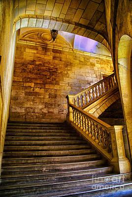 Alhambra Stairway Art Print