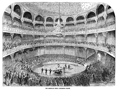 Painting - Alhambra Theatre Circus by Granger