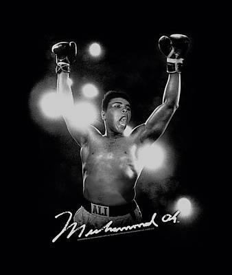 Boxer Digital Art - Ali - Always A Champion by Brand A